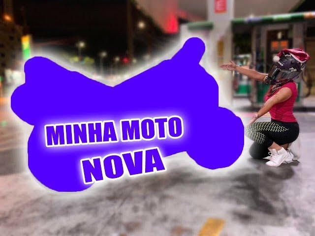 MINHA MOTO NOVA  * Arlequina *  - Thays Rx