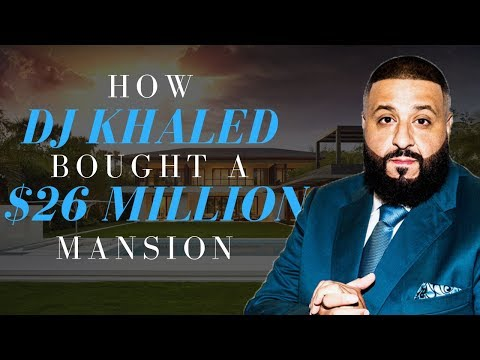 How DJ Khaled Bought a $26,000,000 Mansion