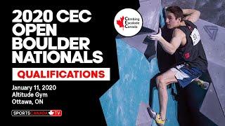 2020 CEC Open Boulder Nationals | Qualification