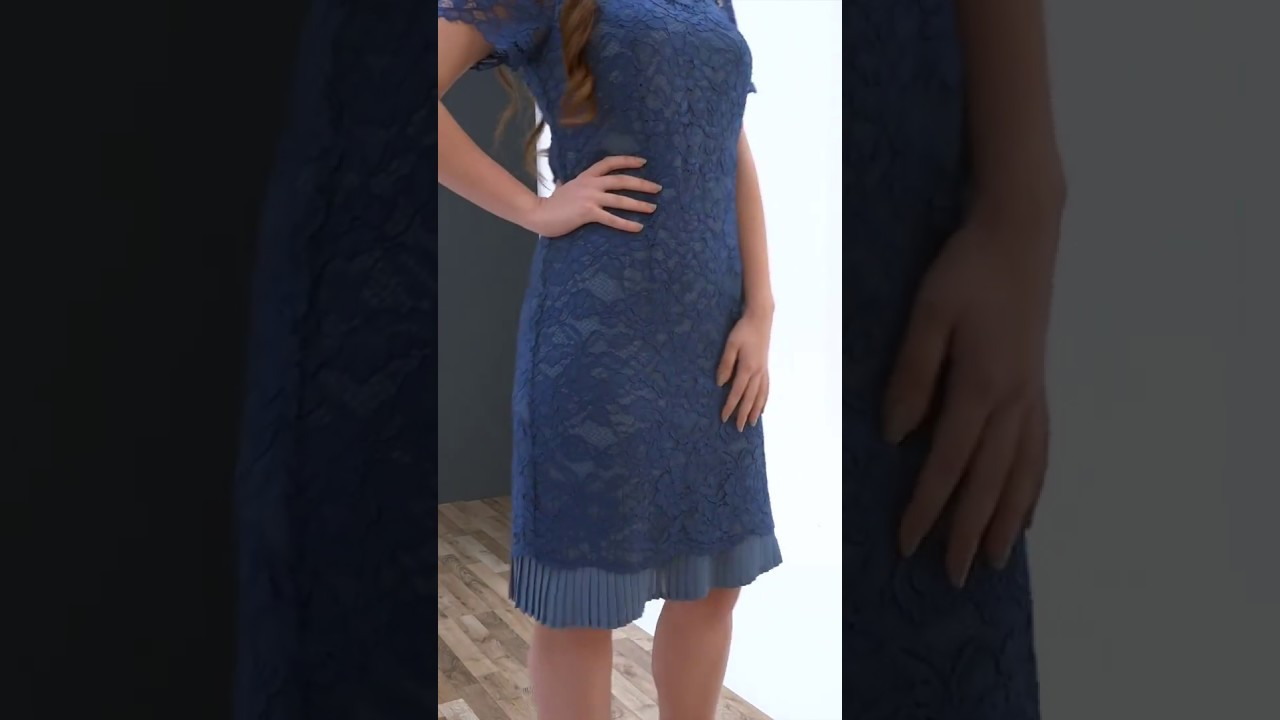 f8d8f64c18f Εντυπωσιακό φόρεμα με δαντέλα // Άνοιξη - Καλοκαίρι 2018 // Ρούχα για Γάμο  & Βάπτιση