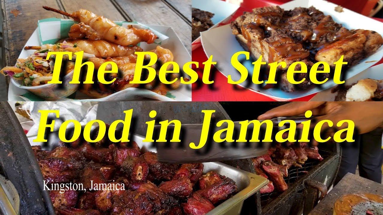 The Best Street Food in KINGSTON JAMAICA | Sully World VLOG4