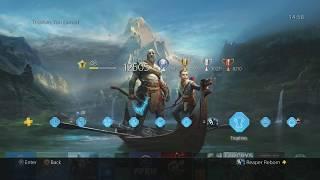 God Of War Dynamic Theme PS4
