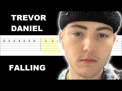 trevor-daniel---falling-(easy-guitar-tabs-tutorial)