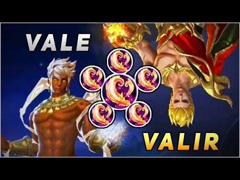 VALE vs VALIR, THE BROTHERHOOD FIGHT! THEY HAVE SIMILARITIES, FULL MAGIC POWER BUILD