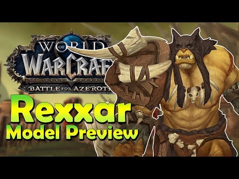 NEW Rexxar Model! - In Game Preview | Battle for Azeroth