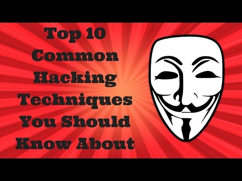 Top 10 Common Hacking Techniques You Should Know