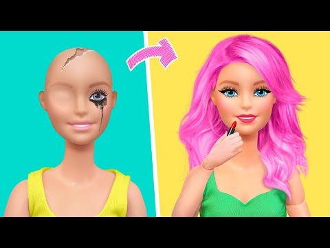 18 идей для миниатюрной косметики Барби