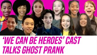 We Can Be Heroes Netflix Cast Talks Behind-the-Scenes Ghost PRANK