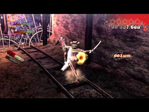 [PS4] Onechanbara Z2: Chaos - Gameplay (Part 1)