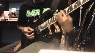 "Morbid Angel ""Chapel Of Ghouls"" Guitar Cover"