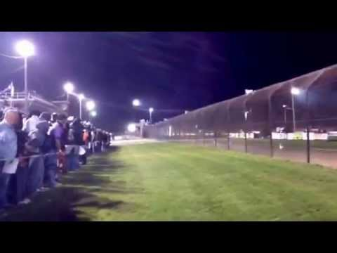 World of Outlaws Dash at Rolling Wheels Raceway 2013