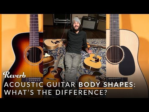 7 Acoustic Guitar Body Shapes, Their Differences And Sounds | Reverb