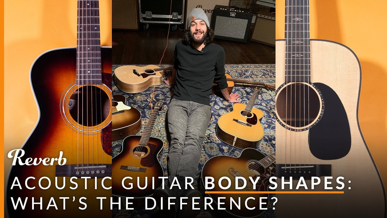 7 Acoustic Guitar Body Shapes, Their Differences and Sounds   Reverb