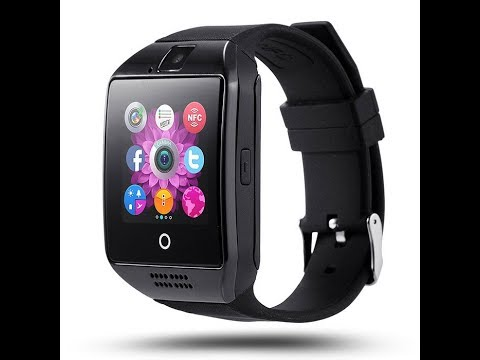 How to pair Q10 Smart Watch to Samsung Galaxy Android Phone.