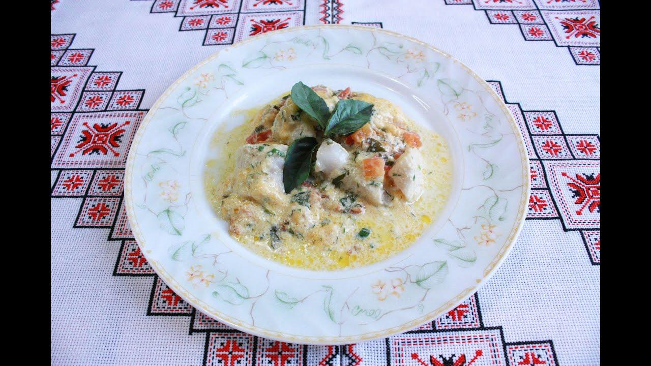 рыба в духовке простои рецепт приготовления