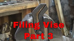 Making the Filing Vise - part 3 - blacksmith tools