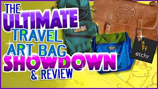 The Ultimate Travel Art Bag Showdown & Review