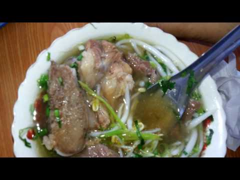 Asia Street Food - Yummy Short Noodles Breakfast - Country Food In My Village