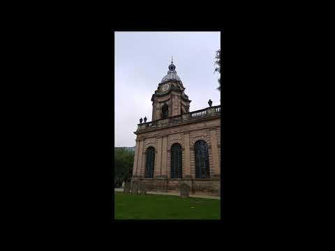 Bell ringing at Birmingham Cathedral - Sunday Morning