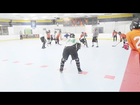 """Panthers vs. Moonshiners (12/1/17) (Div """"3"""" Playoff Round 1 Game 1) Ball Hockey"""