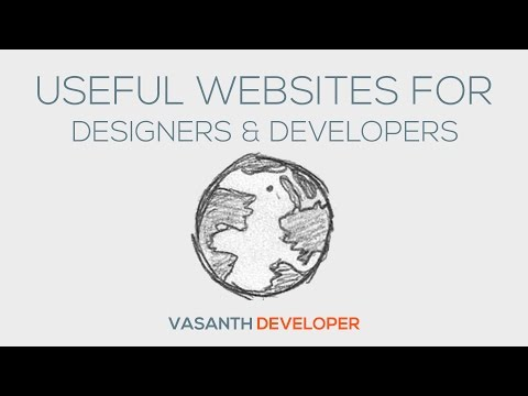 9 Useful Websites For Designers & Developers