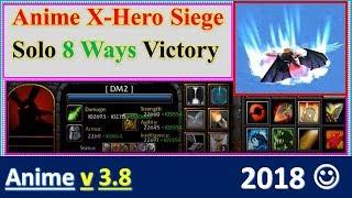 Anime X Hero v3.8 solo 8 Ways Lich King  Momo Shinigami Extreme, Lv 4 Impossible