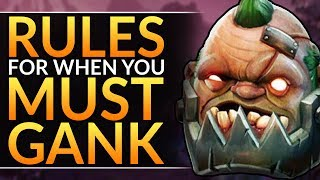RULES to GANK like a PRO - Best Laning Tips You MUST ABUSE to Solo Carry | Dota 2 Lane Guide