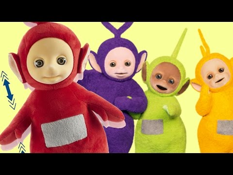 Teletubbies Talking and Jumping Po Soft Toy | Teletubbies Toys