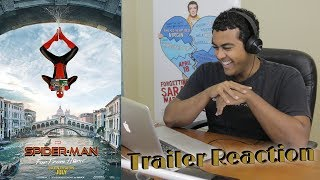 """Spider-Man: Far From Home"" - Trailer Reaction"