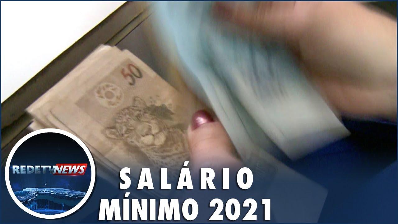 Salário mínimo será de R$ 1.067 em 2021, diz governo