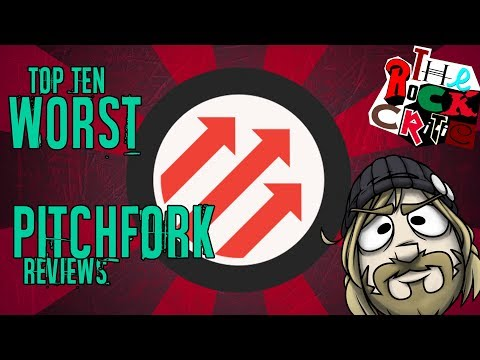 Top 10 WORST PITCHFORK REVIEWS! || The Rock Critic
