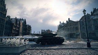 Новий преміум танк - Т-54 перший зразок. Бій в топі