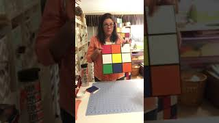 Giant Rubiks Cube DIY