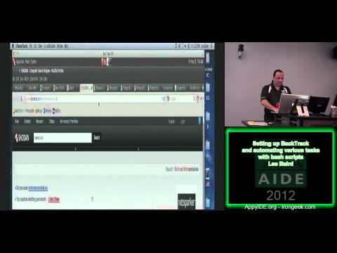 Setting up BackTrack and automating various tasks with bash scripts - Lee Baird