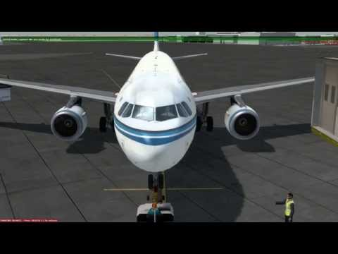 Almost Full Flight - A320 Kuwait Int'l Airport to Bahrain Int'l Airport [OKBK - OBBI]
