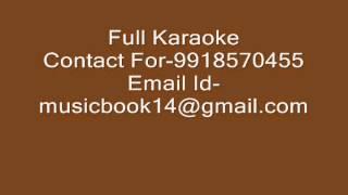 Mere Khwabon Mein Jo Aaye - Karaoke - Lata Mangeshkar - Dilwale Dulhania Le Jayenge (1995)