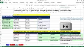 Excel Magic Trick 1259: Can VLOOKUP Lookup Duplicates? Yes! Helper Column or Array Formula?