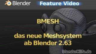 Blender 3D Tutorial - Bmesh (deutsch)