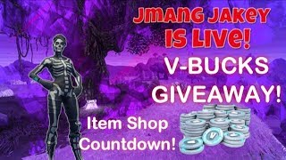 new item shop countdown fortnite free v bucks giveaway - fortnite v bucks shop heute