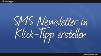 SMS Newsletter in Klick-Tipp erstellen