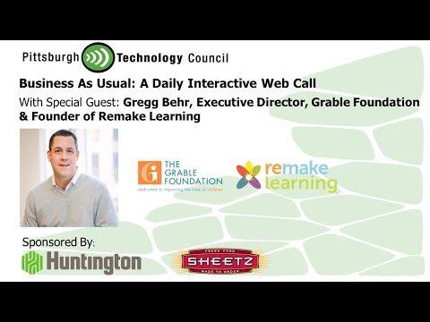 Business as Usual Featuring Gregg Behr, Grable Foundation