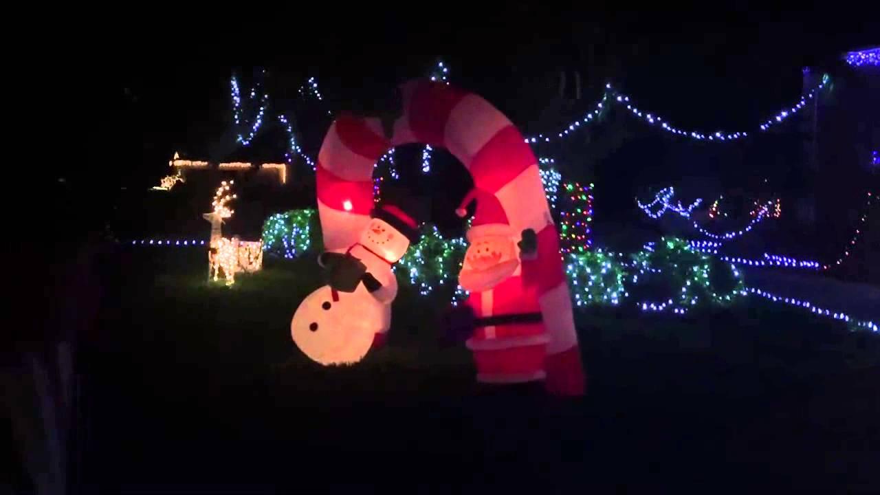 Christmas Tree Lane carriage Ride Bartow - YouTube