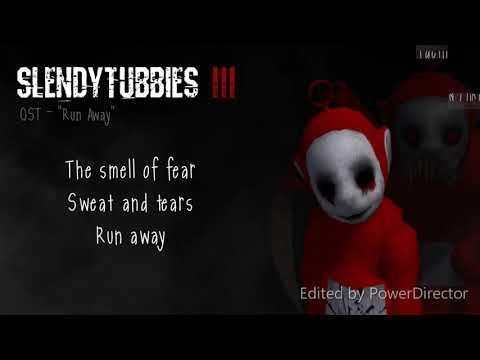 """Slendytubbies 3 Soundtrack: """"Run Away"""" - Lyrics(1hour HD)"""