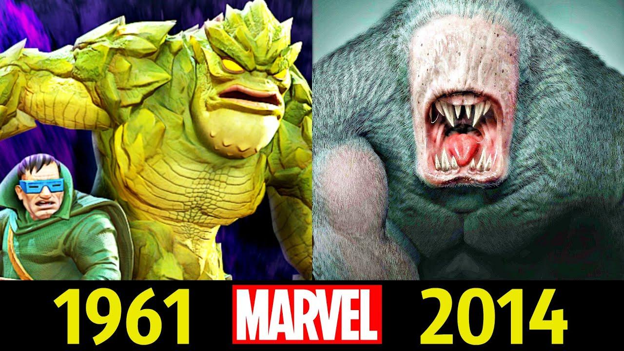 😎 Человек Крот - Эволюция (1961 - 2014) ! Все Появления Харви Элдера 😮!
