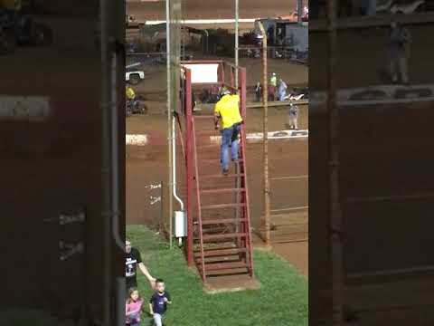 Dixie Speedway June 29 Super Late Models parade laps and start