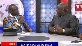 Law on Same Se$ Marriage - PM Express on Joy News (29-6-15)