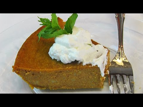Betty's Impossible Pumpkin Pie for Thanksgiving