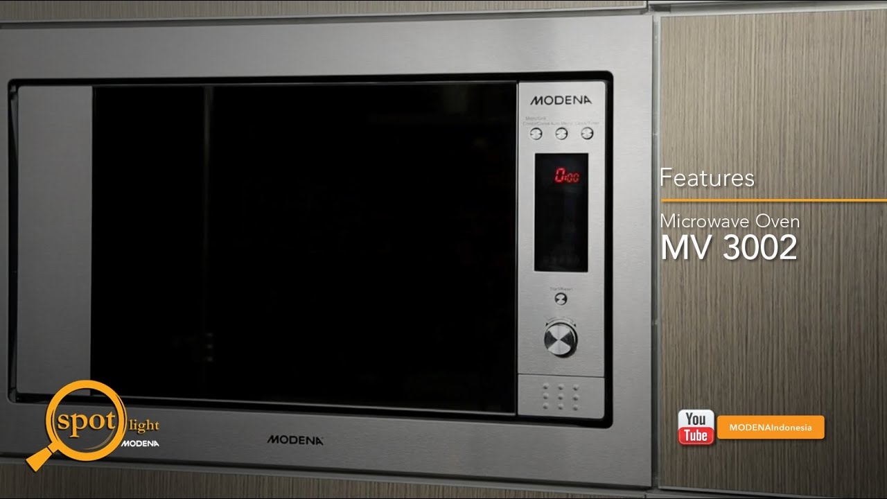 Modena Spotlight Quot Microwave Mv 3002 Features Quot Youtube