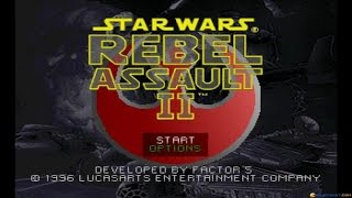 Star Wars: Rebel Assault II: The Hidden Empire gameplay (PC Game, 1995)