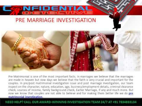 Confidential Detective Agency in India